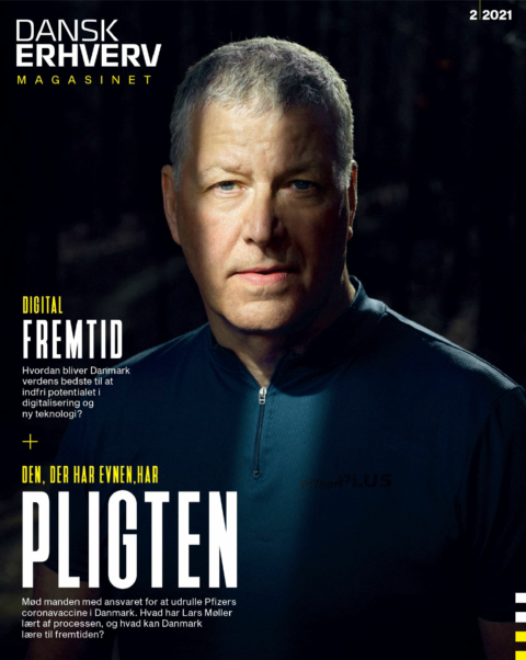 Lars Møller // cover for dansk erhverv